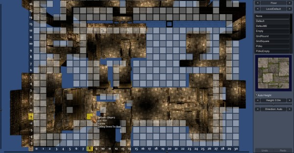 Built-in Map Editor