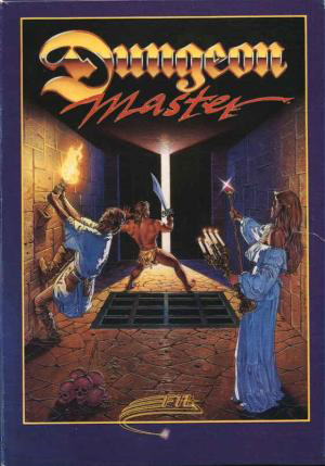 Dungeon Master Atari Box Art