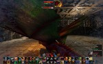 Maneuvering around big Dragon boss (screenshot by MardoG)