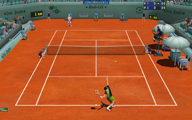Screenshot of Tennis Elbow 2004