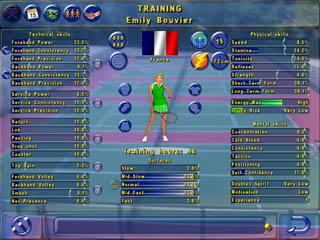 Tennis Manager Game - Training